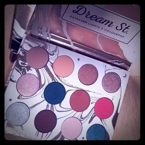 Dream St Kathleen Lights x Colourpop palette BNB